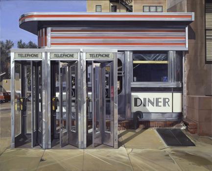 """Richard Estes """"Diner"""""""