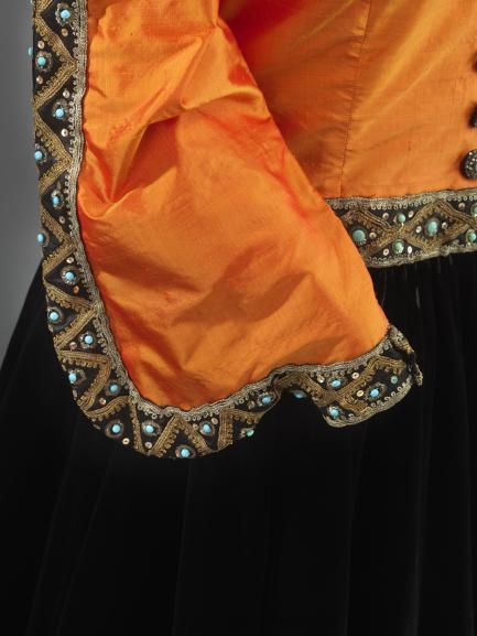 Marian Anderson concert ensemble, sleeve detail