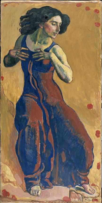 Painting of woman dancing