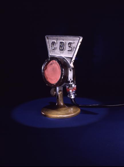 CBS microphone