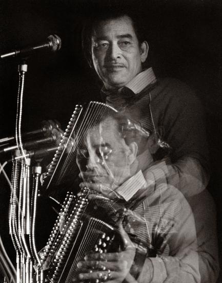 Portrait of Flaco Jimenez