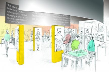 gallery rendering