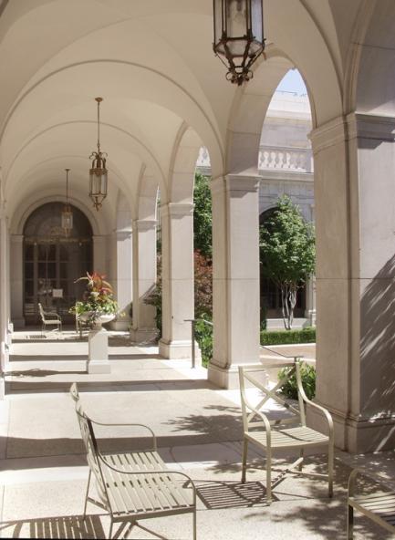 Freer Gallery of Art - Courtyard Peristyle 2