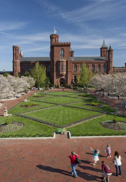 Smithsonian Castle and Enid A. Haupt Garden