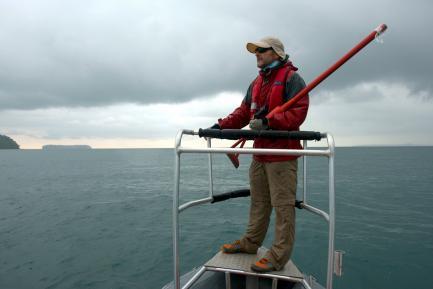 Héctor Guzmán, marine ecologist