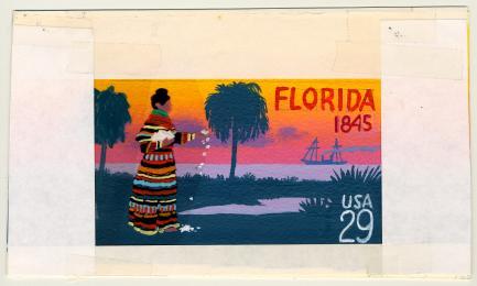 Florida Statehood Commemorative Stamp