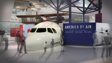 Artist rendering of America by Air gallery