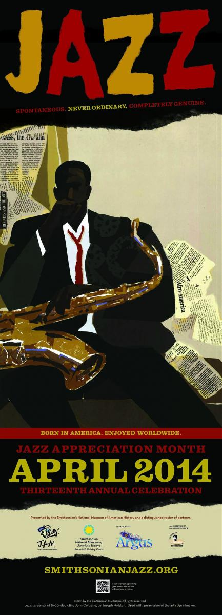Jazz Appreciation Month Poster
