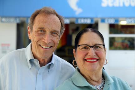 headshot of Michael and Jane Stern