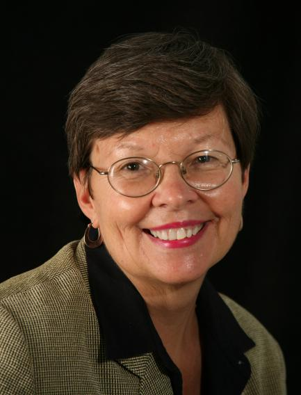 Formal portrait of Janet Klug