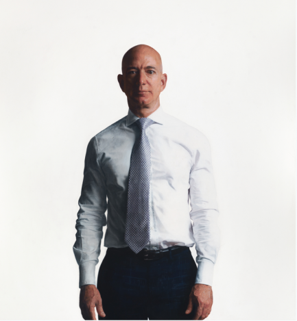 Jeffrey P. Bezos by Robert McCurdy