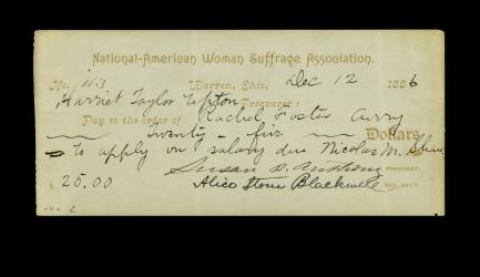 handwritten check