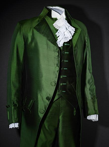 Hamilton suit detail