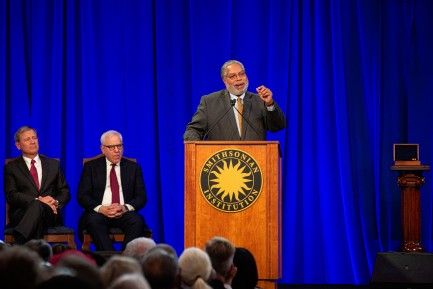 Secretary Lonnie Bunch at Installation Ceremony