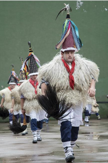 Men in traditional costume