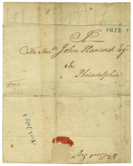 July 4, 1776, John Hancock cover