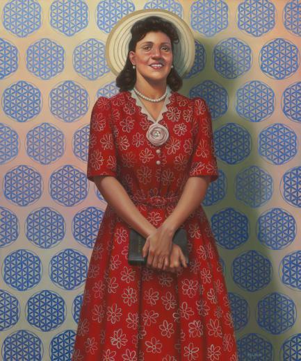 portrait of Henrietta Lacks