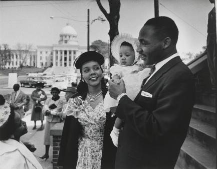 Martin Luther King, Jr. - With Family