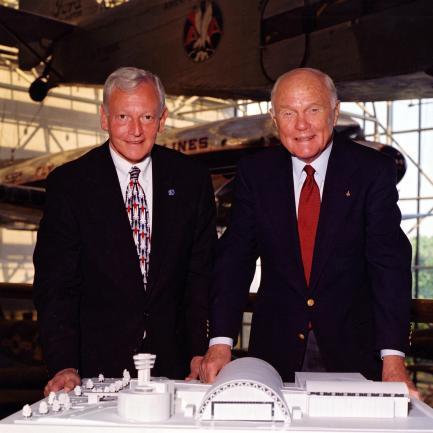 Jack Dailey and John Glenn