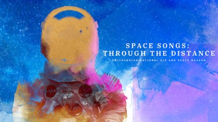 Horizontal poster for Space Songs concert