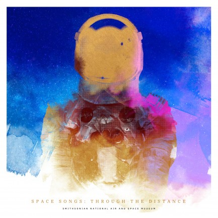 Square poster for Space Songs
