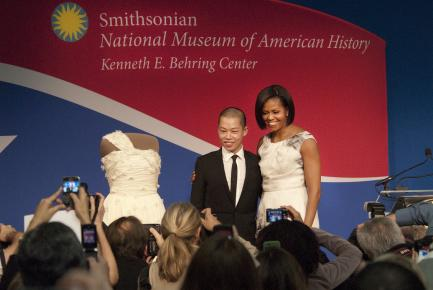 Michelle Obama at American History Musem