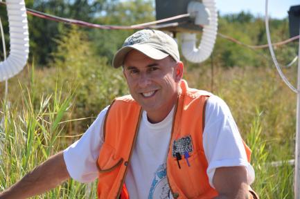 Soil scientist Pat Megonigal