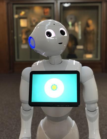Close up of Pepper Robot