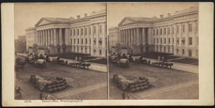 Patent Office Building, 1861