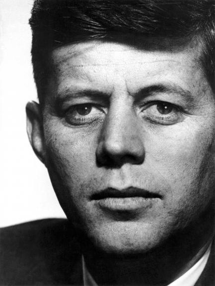 Close up of Kennedy