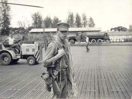 Pratt in uniform