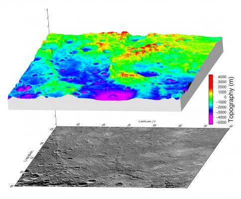 Computer-generated illustration of elevation
