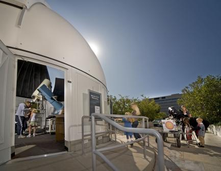Observatory at the Air and Space museum
