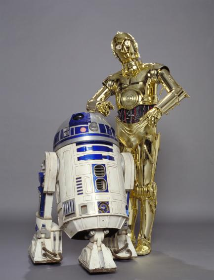 Star Wars Costume: C-3PO and R2-D2