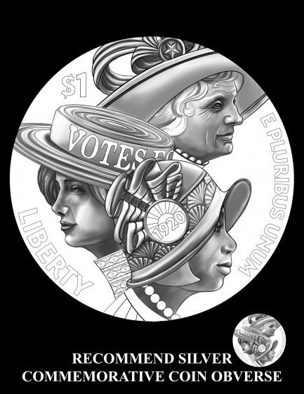 Silver Commemorative Coin Obverse