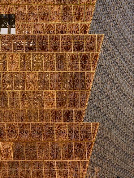 Architectural photo of corona panels