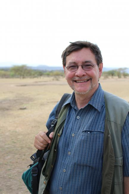 Rick Potts in the field
