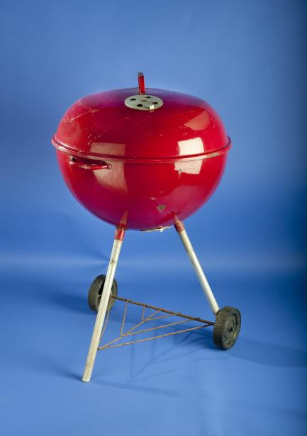 Antique Weber barbecue grill