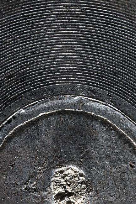 Volta Laboratory Disc Recording - Surface Detail