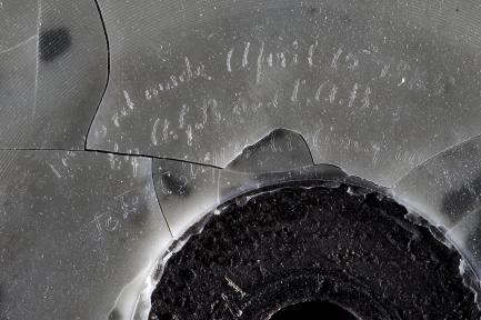 Bell Phonorecord - Inscription Detail