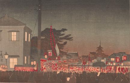 Year-end Market at Sensōji temple