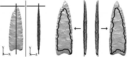 Comparison of stone tools