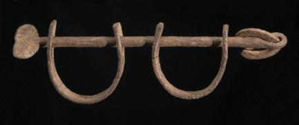 iron shackles