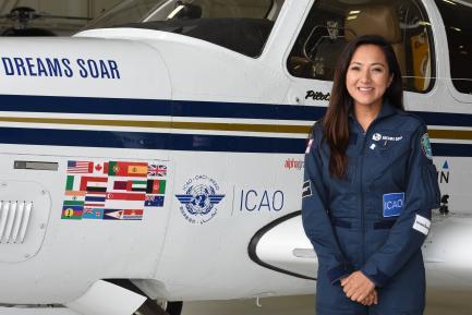 Pilot Shaesta Waiz