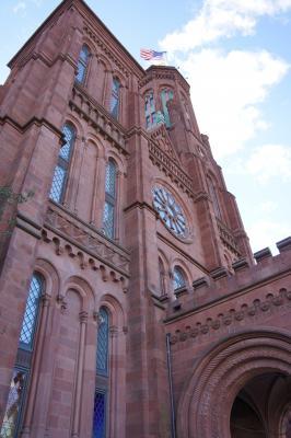 Smithsonian Castle north entrance
