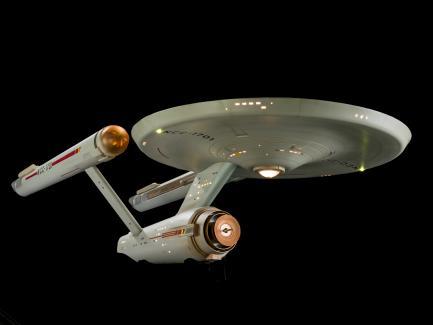 model of starship Enterprise