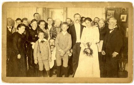 1891 wedding photo