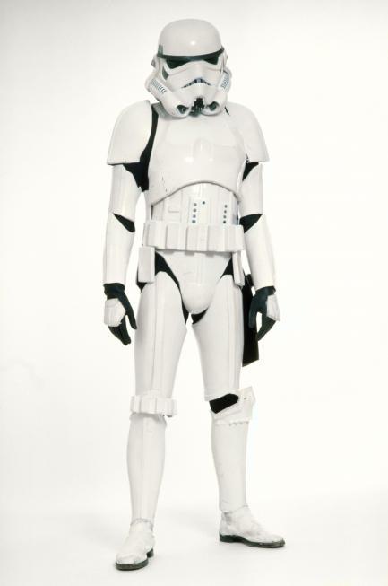 white stormtrooper armour