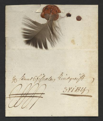 Swedish feather letter