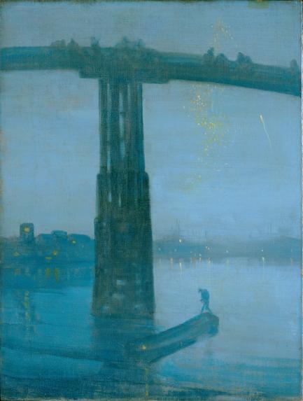 Nocturne: Blue and Gold—Old Battersea Bridge